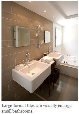 Large-format tiles
